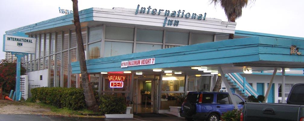 International Inn Miami Beach Fl Florida Mid Century Modern Motels Hotels Roadsidearchitecture