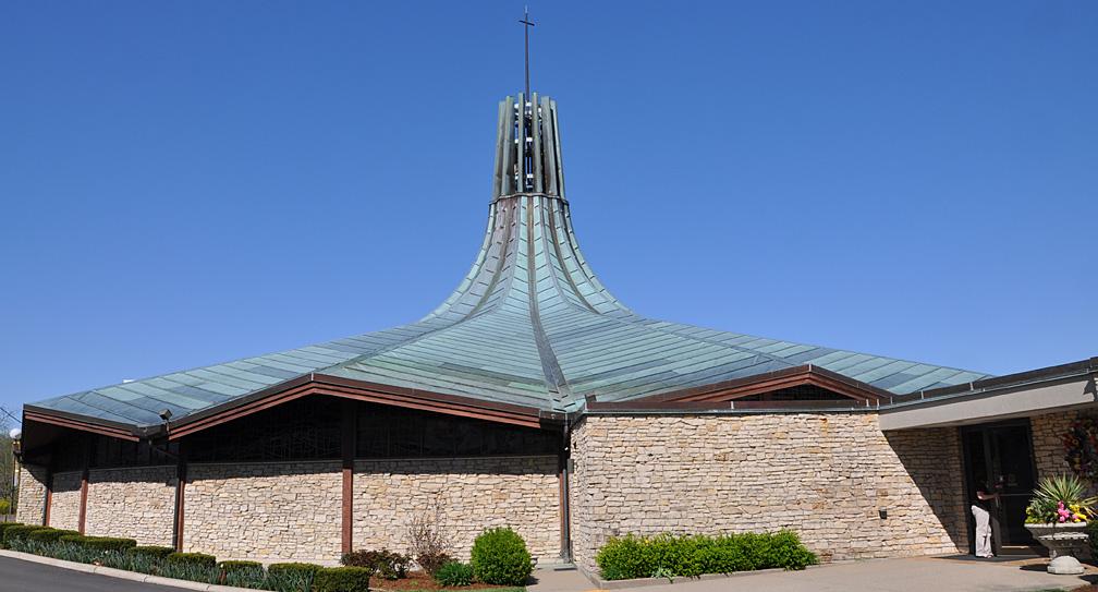 Kentucky Mid Century Modern Churches