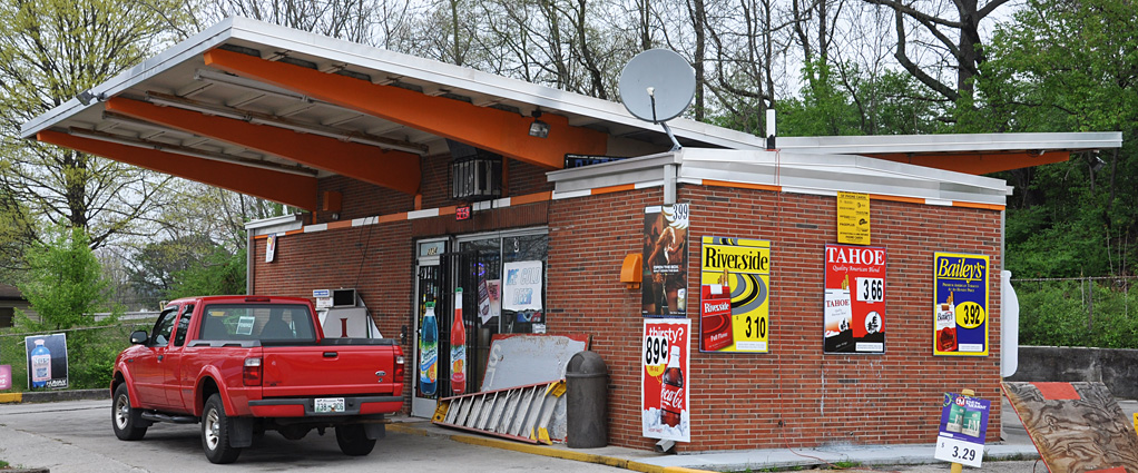 Used Car Dealerships Knoxville Tn >> Tennessee Mid-Century Modern Roofs & Canopies | RoadsideArchitecture.com