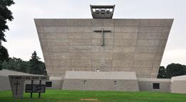 Michigan Mid Century Modern Churches